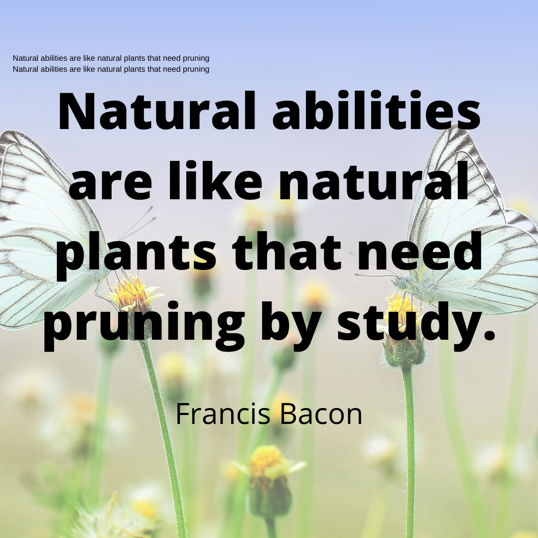 Francis Bacon Quotes, Nature Quotes.