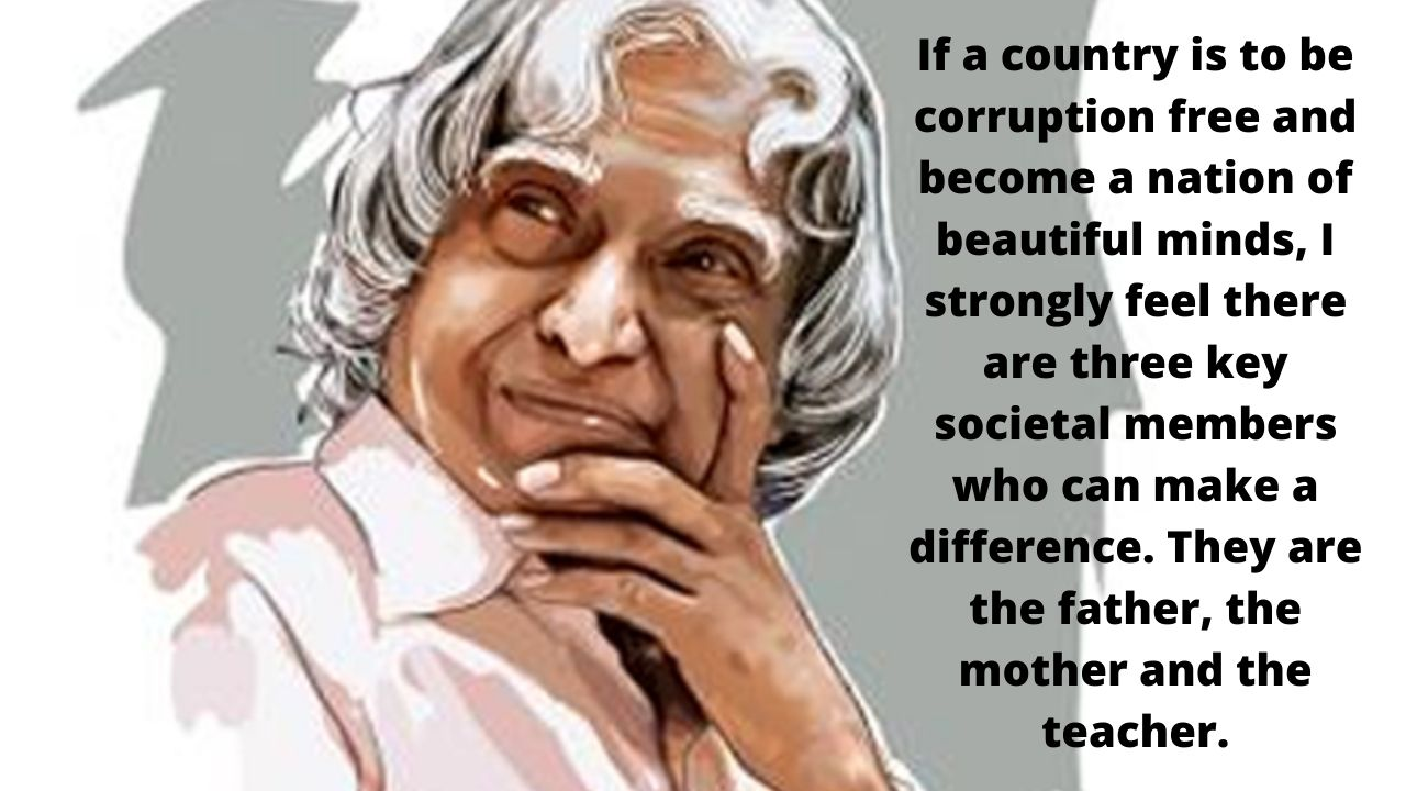 25 Inspiring Quotes By APJ Abdul Kalam to Dream and Innovate in Life