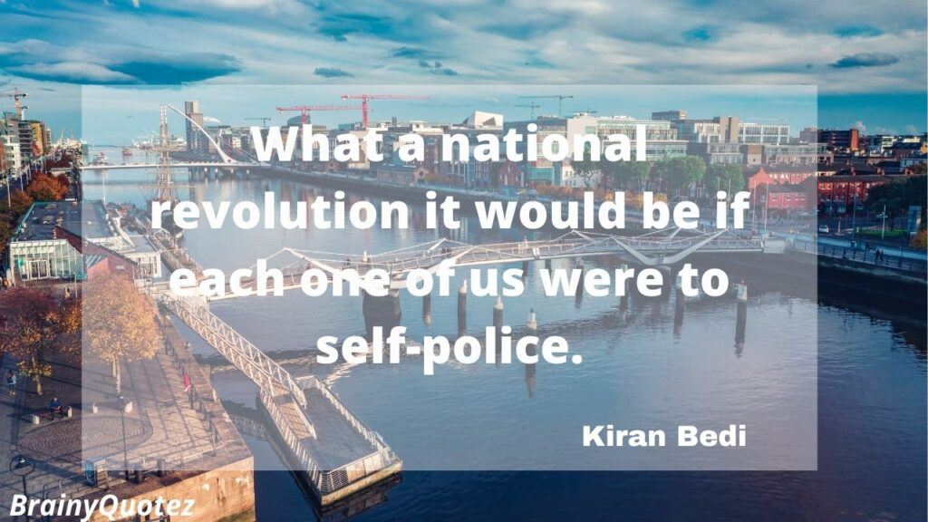 Kiran Bedi Quotes With Images